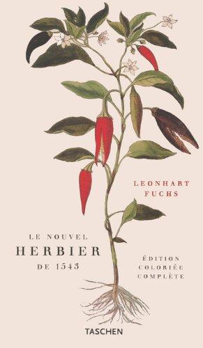 9783822812990: Leonhart Fuchs : le nouvel herbier de 1543, édition colorée complète
