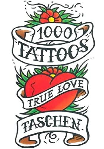 9783822813324: 1000 tattoos