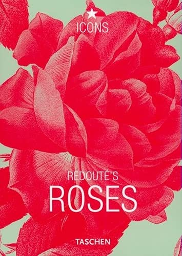 9783822813560: Po-Redoute Roses-Anglais (Icons Series)