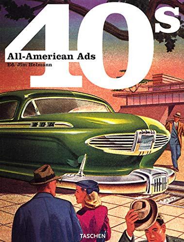 9783822814680: All-American Ads of the 40s