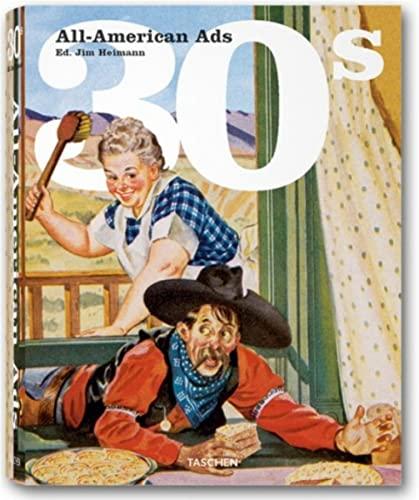9783822816202: All American Ads of the 30s. Ediz. inglese, francese e tedesca (Midi)