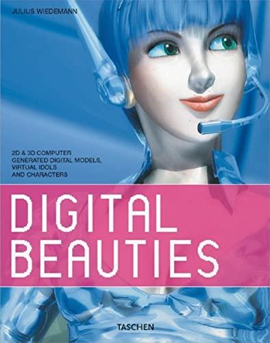 9783822816288: Digital Beauties: 2D & 3D Computer Generated Digital Models, Virtual Idols and Characters