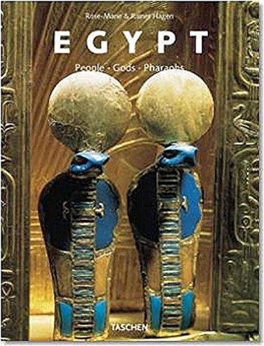 9783822820872: Ägypten. Menschen, Götter, Pharaonen.