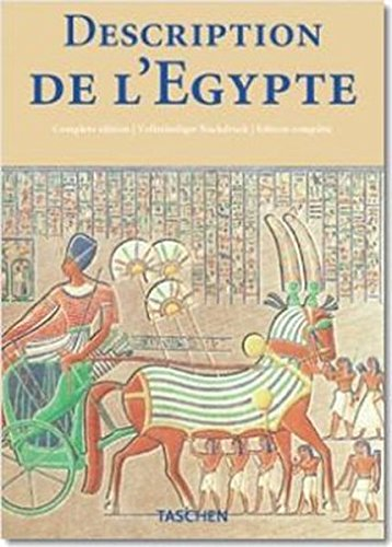 9783822821688: Description de l'Egypte: Publiee par les ordres de Napoleon Bonaparte (Klotz) (English, French and German Edition)