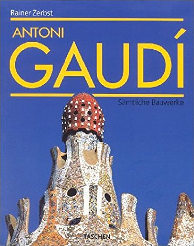 9783822821695: Antoni Gaudi.