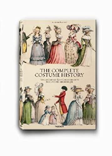 9783822821930: The complete costume history. Ediz. inglese, francese e tedesca (Extra large)