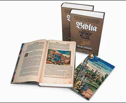 9783822821961: Die Luther-Bible of 1534 Complete Facsmile edition (German Edition)