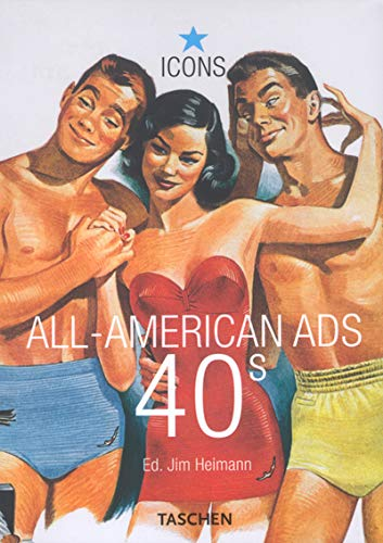 9783822823996: All-American Ads of the 40s