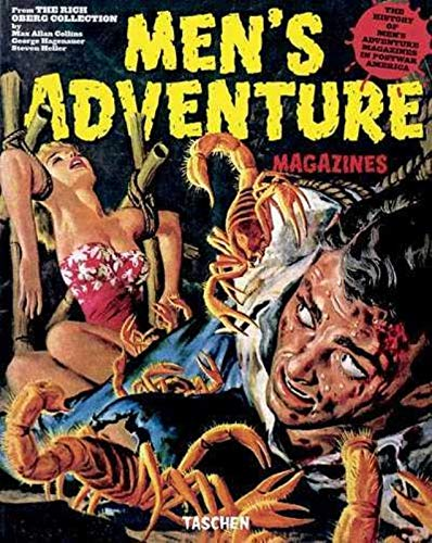 Men's Adventure Magazines (9783822825174) by Max Allan Collins; Rich Oberg; George Hagenauer; Steven Heller