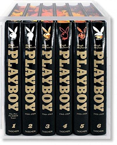 9783822826133: Hugh Hefner's Playboy, 6 Volumes (Collectors)