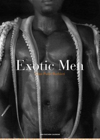 9783822827215: The Exotic Men Big Wall Calendar