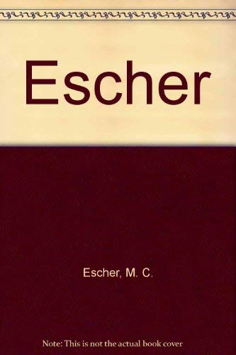 9783822828038: Escher