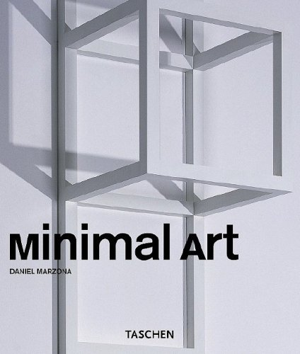 Minimal art taschen basic art by daniel marzona editor for Minimal art book