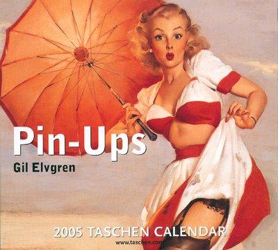 9783822832363: Pin-ups : 2005 Taschen Calendar