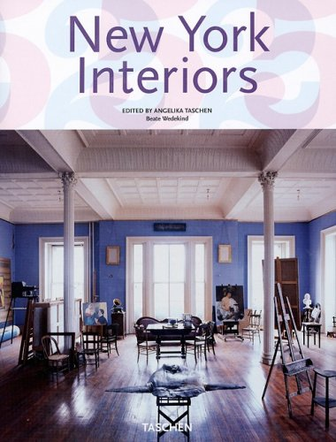 9783822838037: New York Interiors (French, German and English Edition)