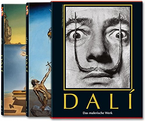 9783822838198: Salvador Dalí. Das malerische Werk. 2 Bde.