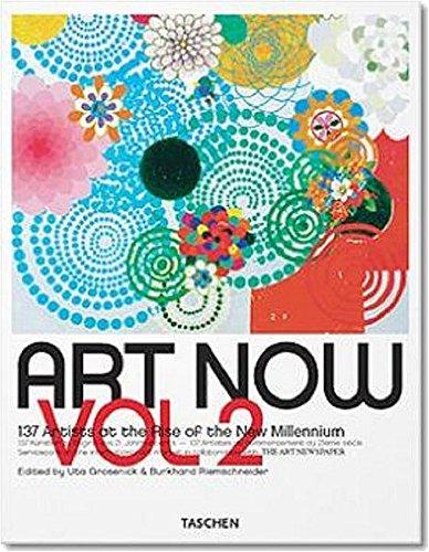 9783822839966: Art Now : Volume 2, The new directory to 136 international contemporary artists, édition anglais-français-allemand