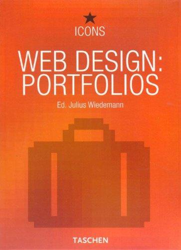 9783822840443: Web design: portfolios. Ediz. italiana, spagnola, portoghese: Best Portfolios (Icons)