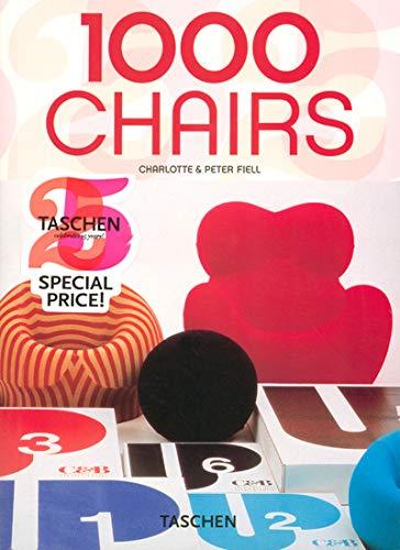 1000 Chairs (Taschen 25): Charlotte Fiell