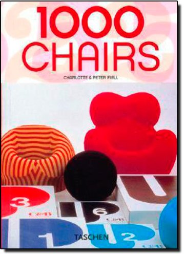9783822841044: 1000 Chairs [25Th Anniversary] [Tas]