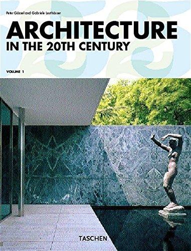 9783822841235: Architecture in the 20th Century (Midi)