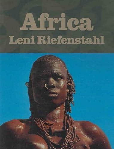 9783822847916: Africa. Leni Riefenstahl. Ediz. inglese, francese e tedesca: FP