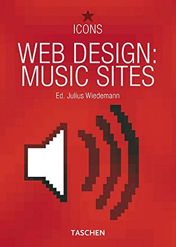 9783822849583: Web Design: Music Sites (Icons) (Taschen Icons) (English, French and German Edition)