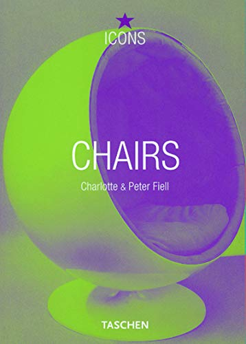9783822855072: Chairs A-Z (TASCHEN Icons Series)