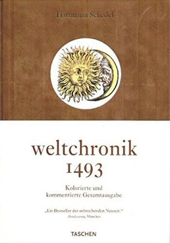 9783822857250: Weltchronik. Teil von: Bibliothek des Börsenvereins des Deutschen Buchhandels e.V. ; Rez. (Interview mit Stephan Füssel) in: Anzeiger, 137, 2002, 5, S.-26