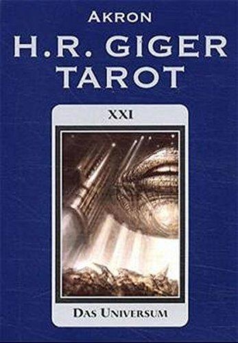 H.R. Giger Tarot Set with Cards: H. R. Giger