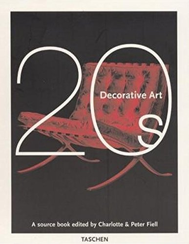 9783822860519: Decorative Art 1920's (Decorative art series)