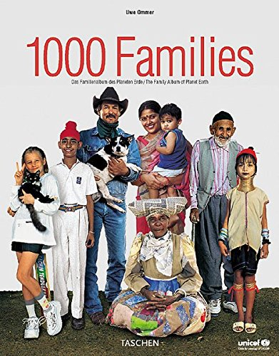9783822862131: 1000 Families : L'Album de famille de la planète Terre, édition trilingue français-anglais-allemand