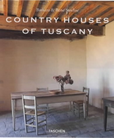 9783822863060: Country Houses of Tuscany