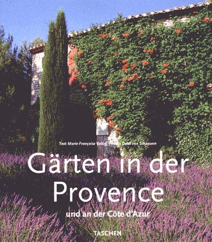 9783822871119: Gärten in der Provence. Und an der Cote d'Azur