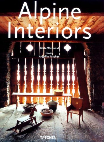 alpine Interiors: Wedekind, Beate