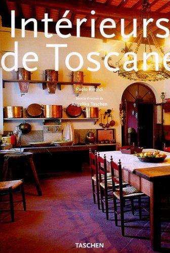 9783822877227: Intérieurs de Toscane