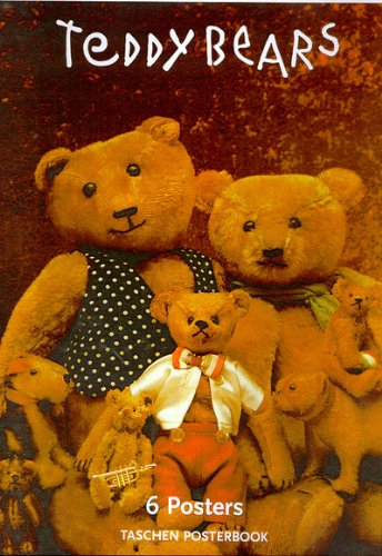 9783822878866: Teddy Bears Poster Book, 6 Posters