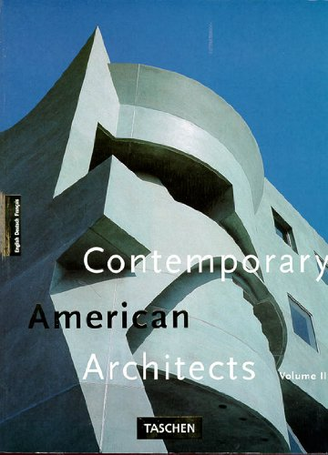 9783822881873: Contemporary American Architects: 3
