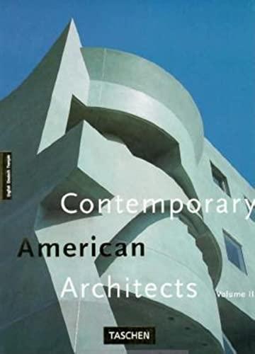 Contemporary American Architects, Vol.3: Jodidio, Philip