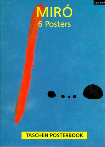 9783822883358: Miro Posterbook (Hors Collection)