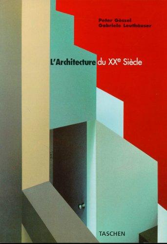 9783822883624: L'architecture du XXe siècle