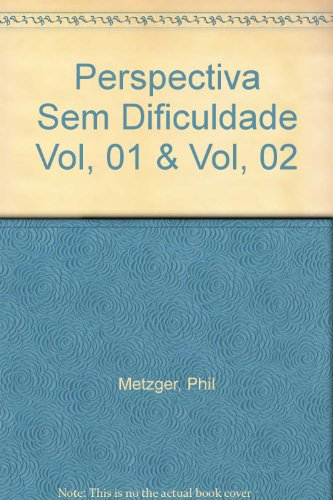 9783822884799: A Perspectiva sem Dificuldade Volume I/1 Capitulo Bases