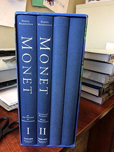 9783822885598: Monet: Catalogue Raisonne (4 Volume Set)