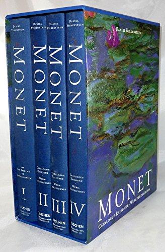 Monet: Catalogue Raisonne (4 Volume Set) (9783822885598) by Daniel Wildenstein