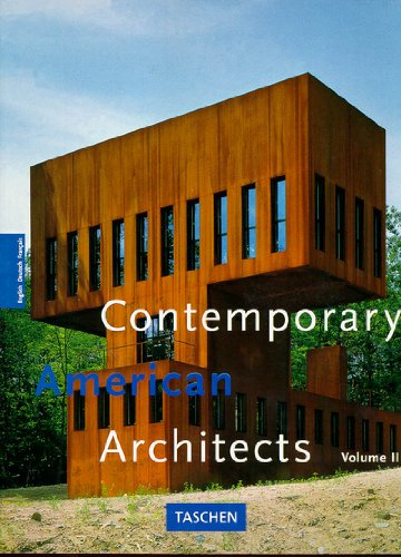 Contemporary American Architects: Vol. 2 (Big) (German Edition)