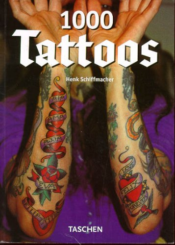 9783822885925: 1000 Tattoos (Klotz Series)