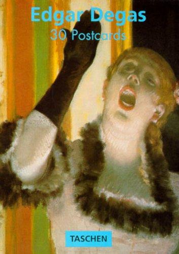 PostcardBook, Edgar Degas (Postcard Books): Edgar Degas