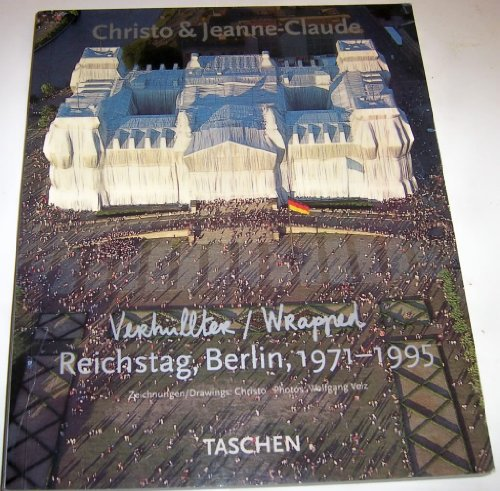 9783822886281: Wrapped Reichstag Berlin 1971-1995 The Project Book
