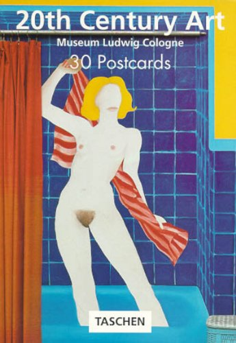 9783822888698: 20th Century Art Postcard Book (PostcardBooks)