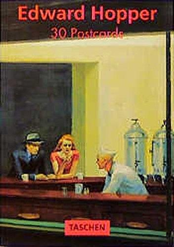 9783822889206: Hopper (Postcardbooks)